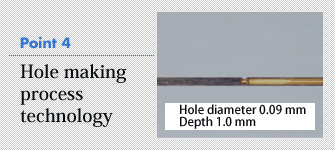 4. Hole making process technology