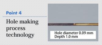 4. Hole making process technology
