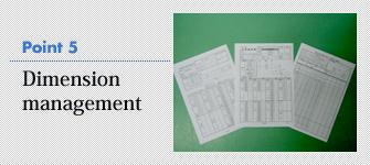 5. Dimension management