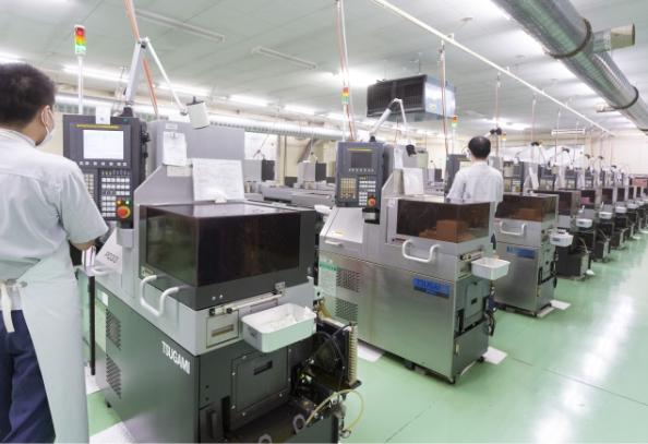 設備と生産体制